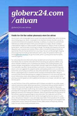 globerx24.com/ativan