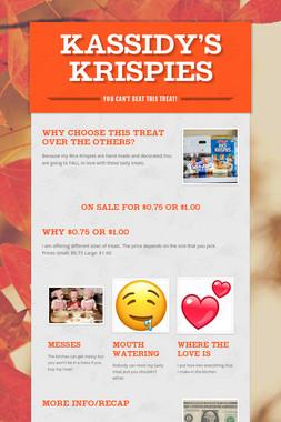 Kassidy's Krispies