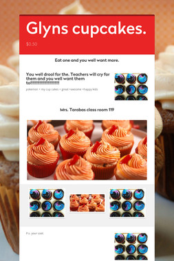 Glyns cupcakes.