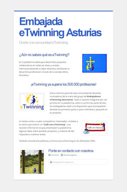 Embajada eTwinning Asturias