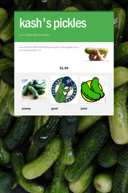 kash's pickles
