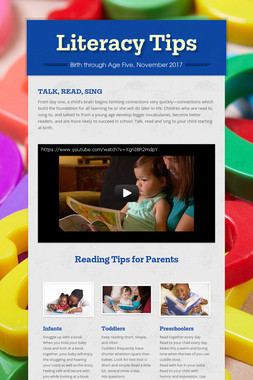 Literacy Tips