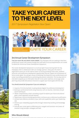 Career Development Symposium