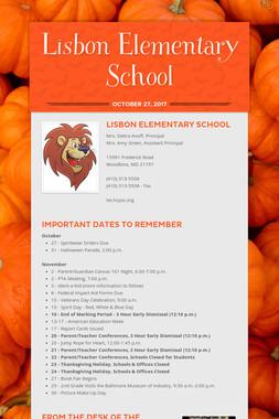 Lisbon Elementary School