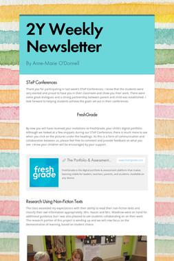 2Y Weekly Newsletter