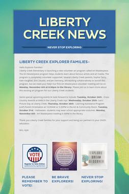 Liberty Creek News