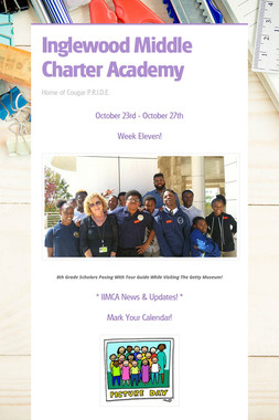 Inglewood Middle Charter Academy