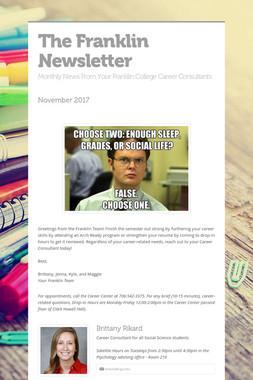 The Franklin Newsletter