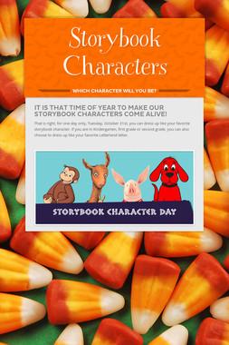 Storybook Characters