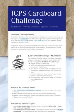 JCPS Cardboard Challenge