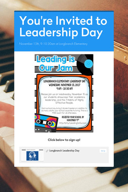 You're Invited to Leadership Day