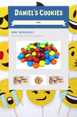Daniel's Cookies