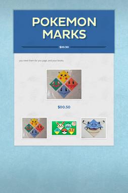 pokemon marks
