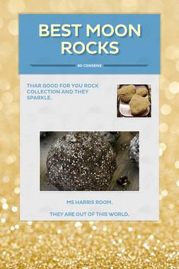 best moon rocks