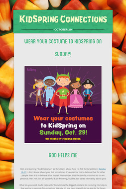 KidSpring Connections