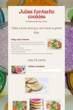 Julies fantastic cookies