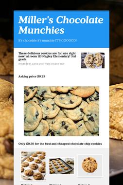 Miller's Chocolate Munchies