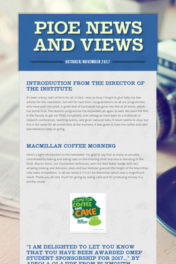 PIoE News and Views
