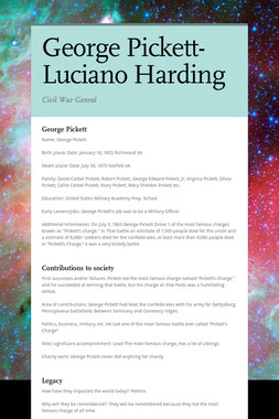 George Pickett- Luciano Harding