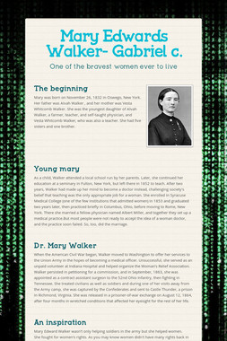 Mary Edwards Walker- Gabriel c.