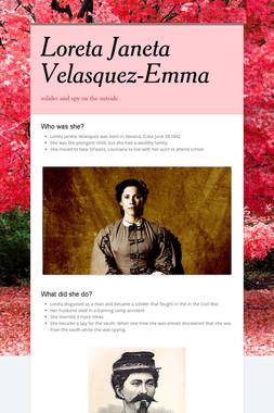 Loreta Janeta Velasquez-Emma