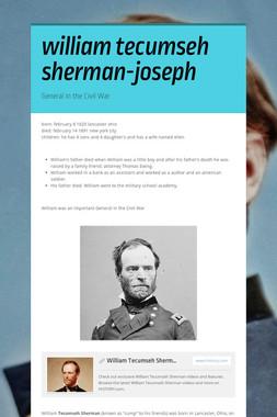 william tecumseh sherman-joseph