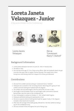 Loreta Janeta Velazquez - Junior