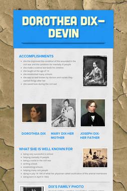 Dorothea Dix-Devin