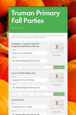 Truman Primary Fall Parties