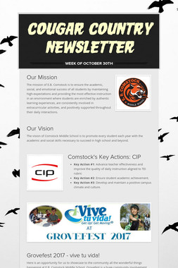 Cougar Country Newsletter
