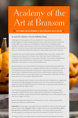 Academy of the Art at Bransom