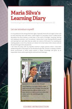 Maria Silva's Learning Diary