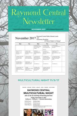 Raymond Central Newsletter