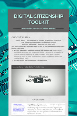 Digital Citizenship Toolkit