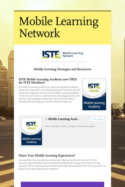Mobile Learning Network
