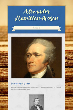 Alexander Hamilton-Mason