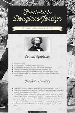 Frederick Douglass-Jordyn