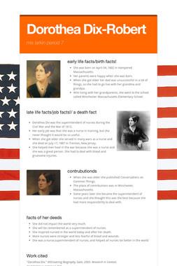 Dorothea Dix-Robert