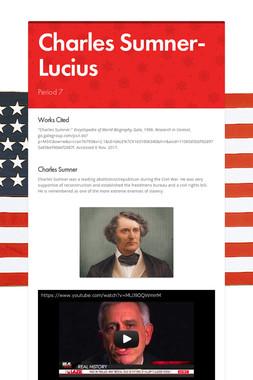 Charles Sumner- Lucius
