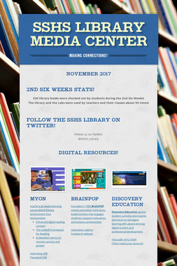 SSHS Library Media Center