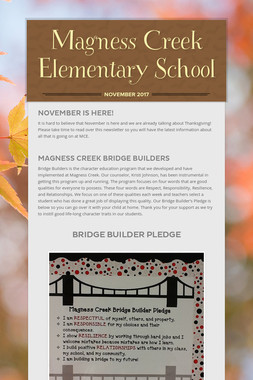 Magness Creek Elementary School