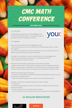 CMC Math Conference