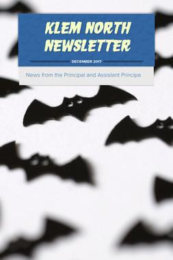 Klem North  Newsletter