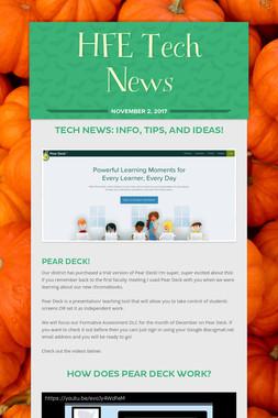 HFE Tech News