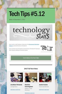 Tech Tips #5.12