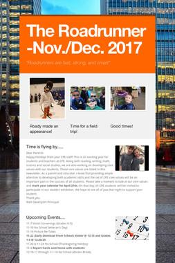 The Roadrunner -Nov./Dec. 2017
