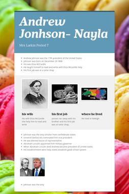 Andrew Jonhson- Nayla