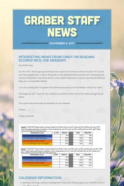 Graber Staff News