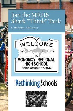 "Join the MRHS Shark ""Think"" Tank"