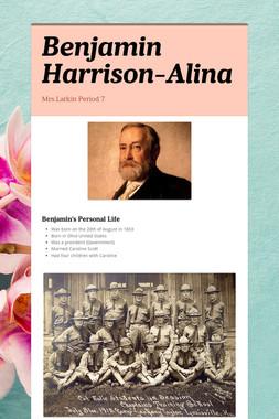 Benjamin Harrison-Alina